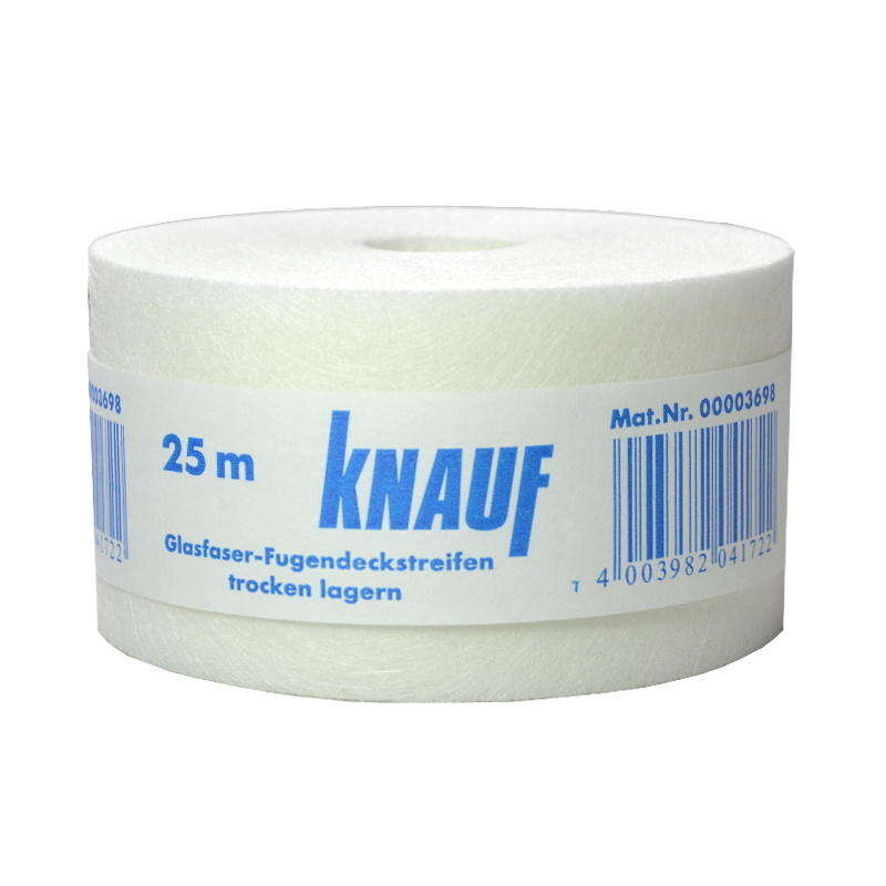 knauf glasfaser fugendeckstreifen 25m x 50mm bewehrungsstreifen anti rissband ebay. Black Bedroom Furniture Sets. Home Design Ideas